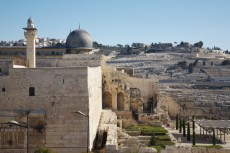 El Aqsa Mosque and Mount of Olives jerusalem 144967557