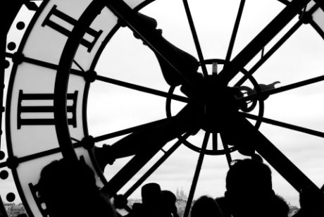 Sacre Coeur Clock, Paris 154267868